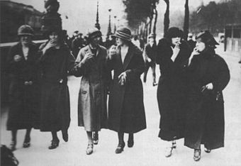 Image result for Torches of Freedom women smoking