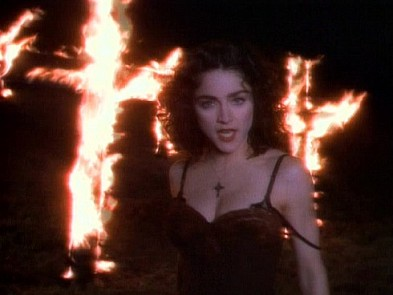 Madonna crosses