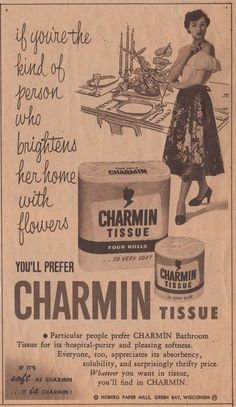 charmin flowers ad