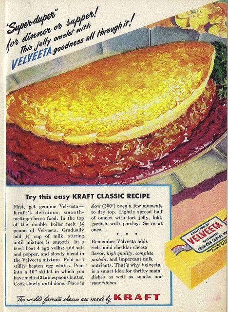 velveeta omlete