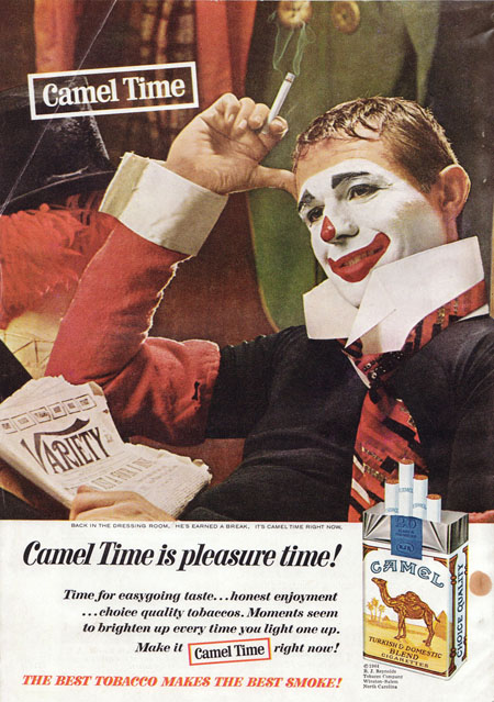 cigarette clown