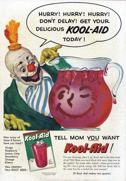 koolaid clown